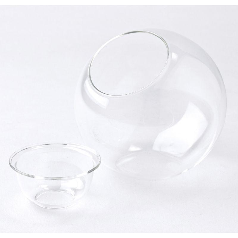 BULB VASE 水栽培ガラスベース クリア ラウンドドーム KEGY4080 / SPICE OF LIFE