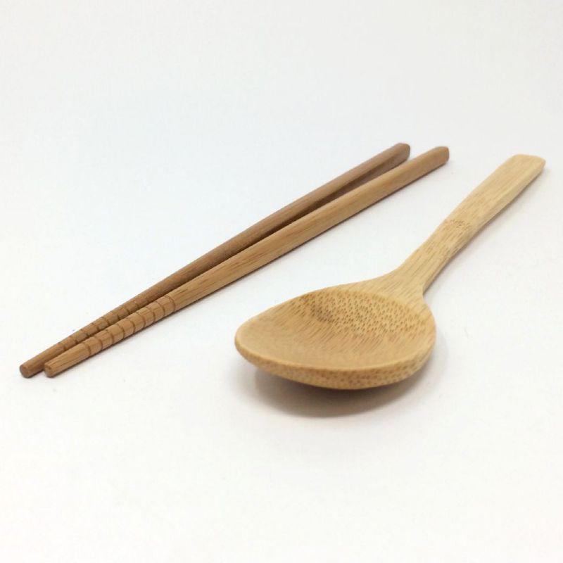 バンブー箸&スプーンセット KJLF2029 / SPICE OF LIFE