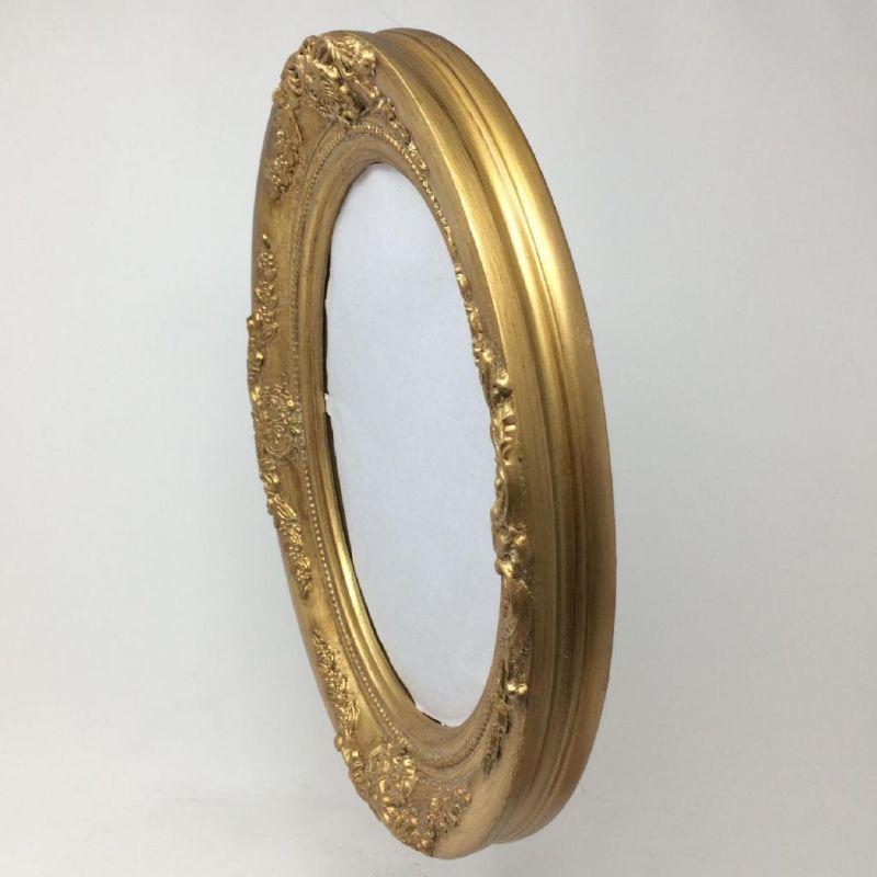アンティークスタイルオーバルミラー ゴールド Sサイズ ANCIENT SQM803SGD / SPICE OF LIFE