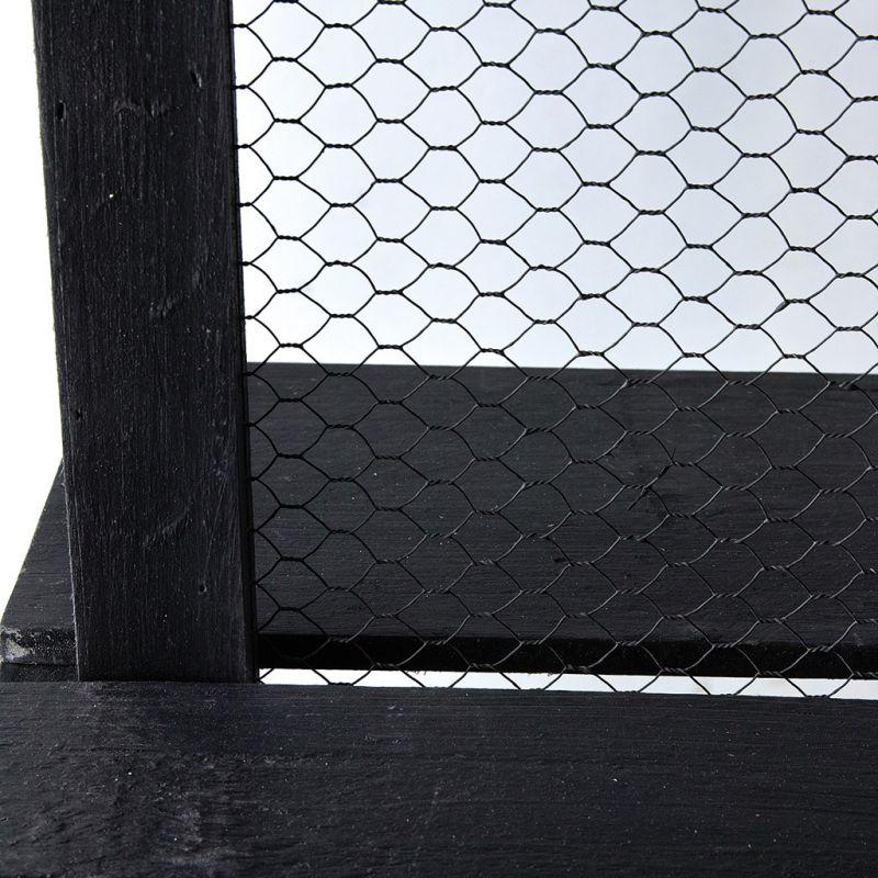 [送料無料] 両面ディスプレイマルシェラック ブラック MYDN1030BK / SPICE OF LIFE