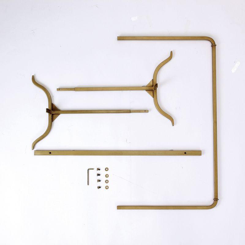 ジョセフアイアン ハンガーラック ロー 組立式 ゴールド DTFF9210GD / SPICE OF LIFE