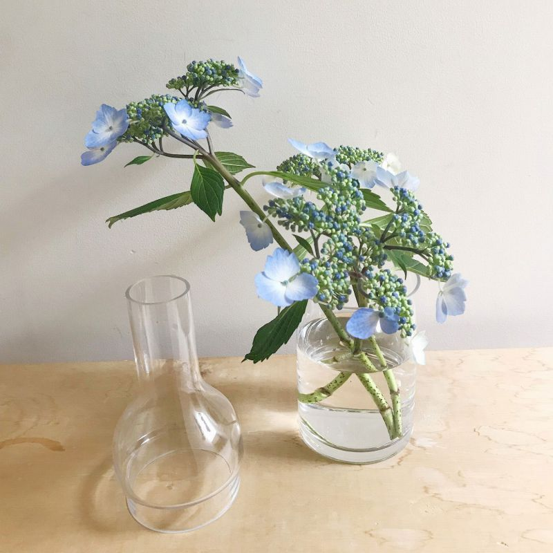 LABO GLASS ボトルフラワーベース2WAY Lサイズ KEGY4093 / SPICE OF LIFE