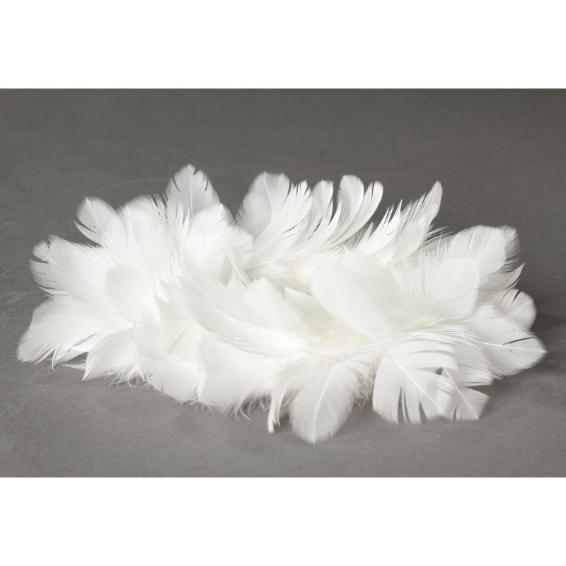 クリスマス エンジェルフェザーリース ホワイト Lサイズ TLXK3933WH / SPICE OF LIFE