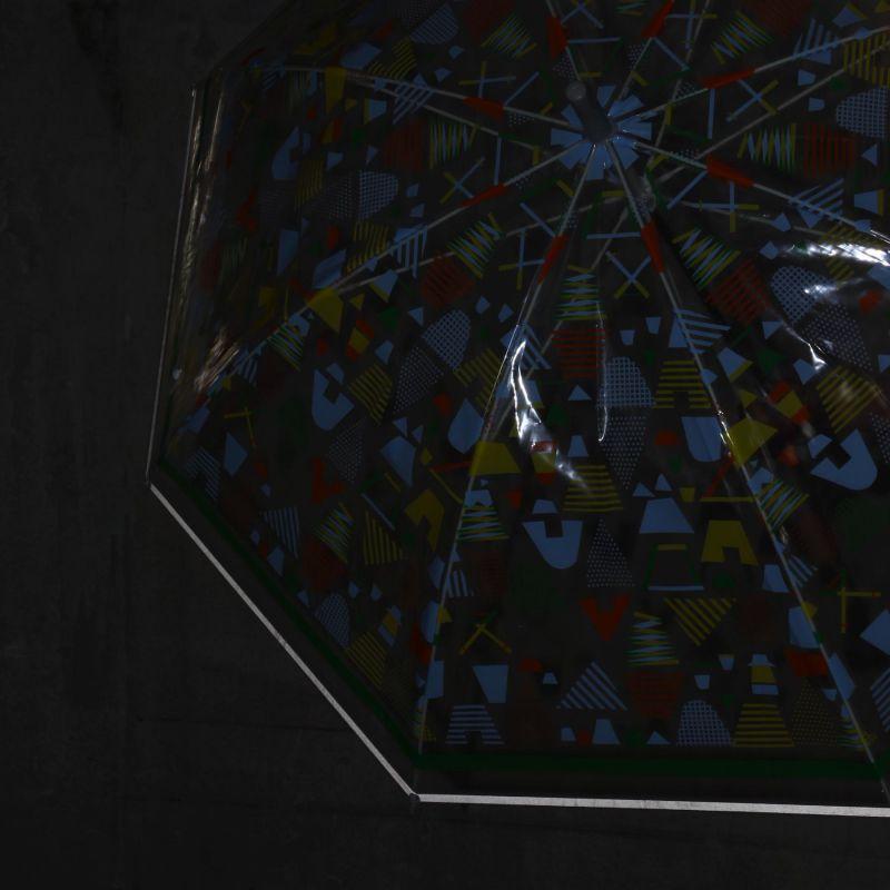 ハッピークリアアンブレラ キャンプ 反射テープ付き HHLG2030 / SPICE OF LIFE