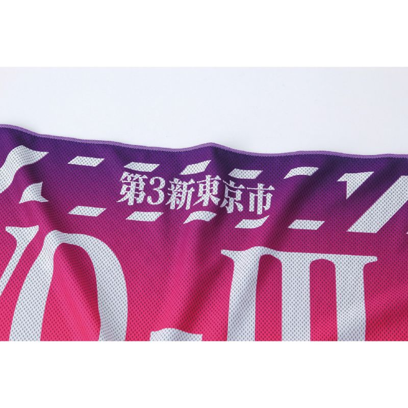 [SPICE OF LIFE] ウォータークールタオル エヴァンゲリオンスポーツ 第3新東京市 120×34cm SFVZ2000EVTYO
