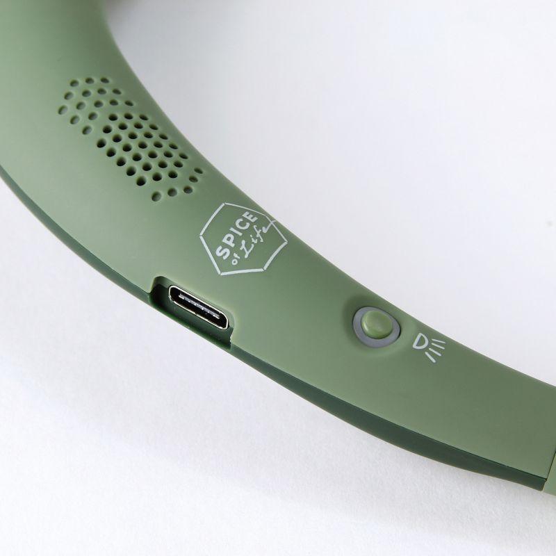 [送料無料] スピーカーライトwithコールレシーバー ハンズフリー カーキ WSL100KH / SPICE OF LIFE