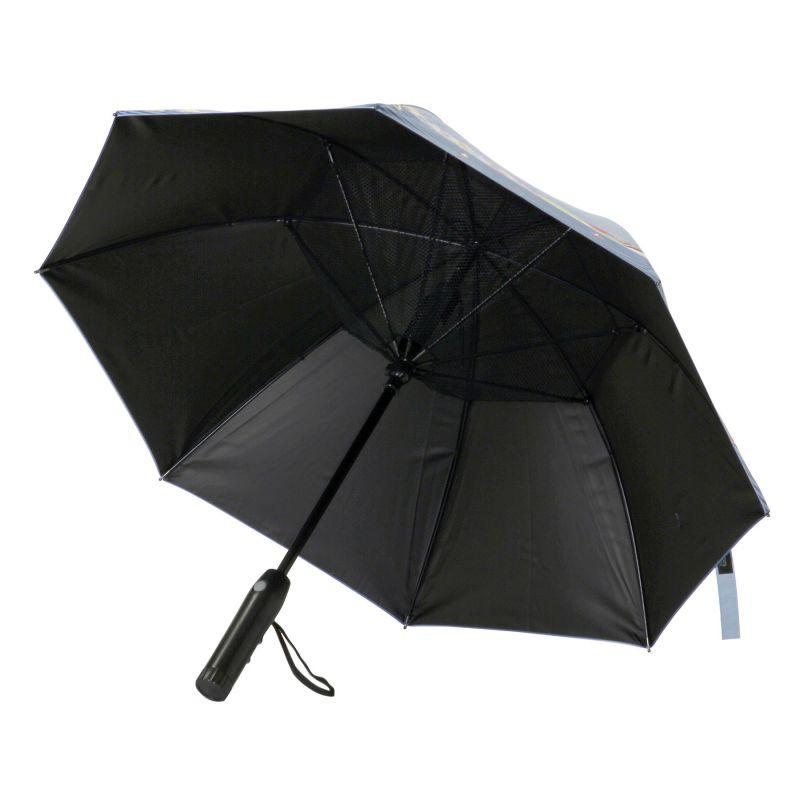 【夏セール30%OFF】ファンファンパラソル 扇風機付き日傘 シーサイド 50cm HHLG2210 / SPICE OF LIFE