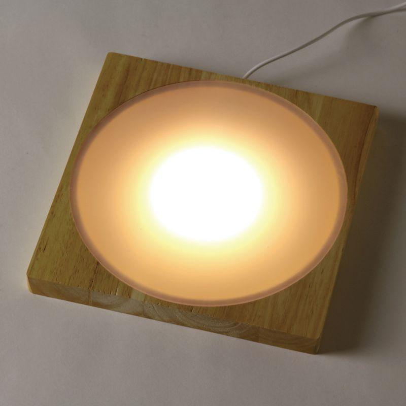 LEDディスプレイライト USBタイプ Lサイズ 20×20cm JPDF2113 / SPICE OF LIFE