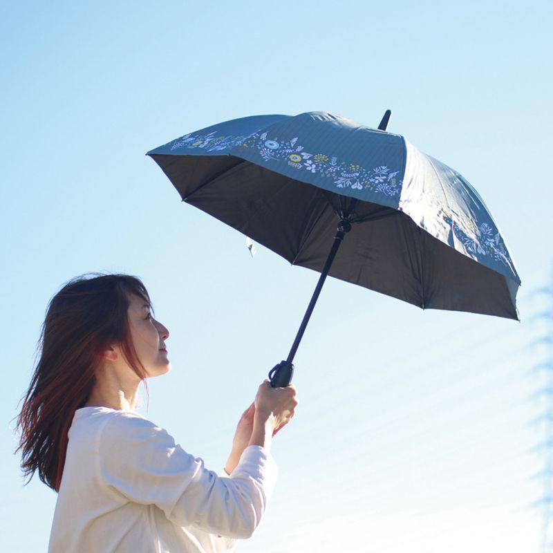ファンファンパラソル 扇風機付き日傘 フローラ 50cm HHLG2230 / SPICE OF LIFE