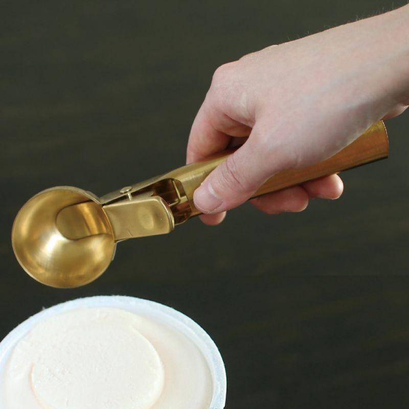 BONO BONO アイスクリームディッシャースプーン ブラスカラー HLLH2070 / SPICE OF LIFE