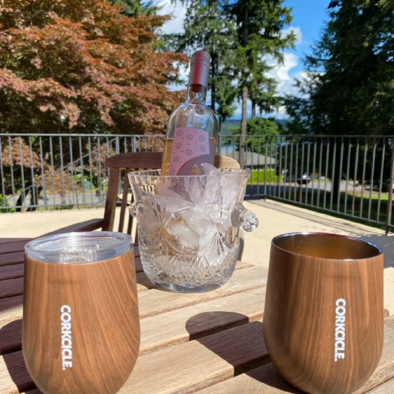 CORKCICLE ステムレス ウォールナット 300ml WALNUT STEMLESS 12oz 2312PWW