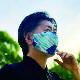 ※UVカットウォータークールマスク2枚セット アイスブルー&ネイビー ふつうサイズ SFVZ2069LBN / SPICE OF LIFE