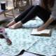 [SPICE OF LIFE] 折りたたみピクニックマット ジャングル 148×130cm LHLZ1010