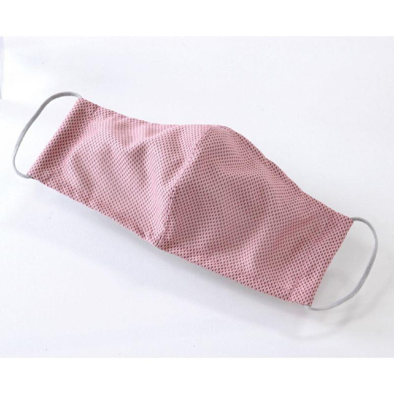 ※UVカットウォータークールマスク2枚セット ピンク&ホワイト ふつうサイズ SFVZ2099LPW / SPICE OF LIFE