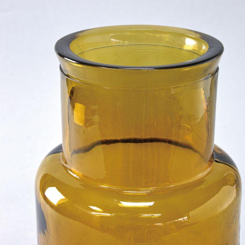 リサイクルガラスフラワーベース SEIS アンバー VALENCIA VGGN1060AM / SPICE OF LIFE