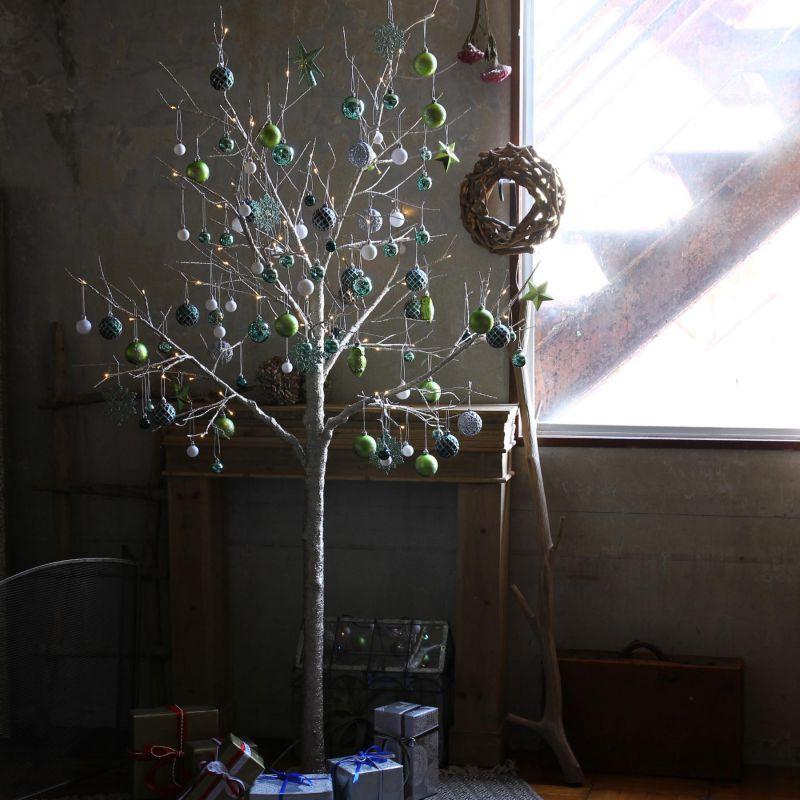 [大型送料1,650円]【3,600円OFF】 LEDブランチツリー ゴールド トール×グリーンオーナメントSET RJXN3114GDGR / SPICE OF LIFE