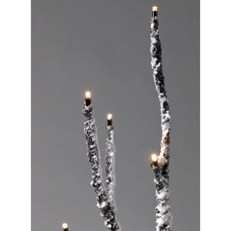 ※【3,800円OFF】[送料無料]LEDブランチツリースリム ブラウン Lサイズ×レッドオーナメントSET RJXN3913BRRD / SPICE OF LIFE