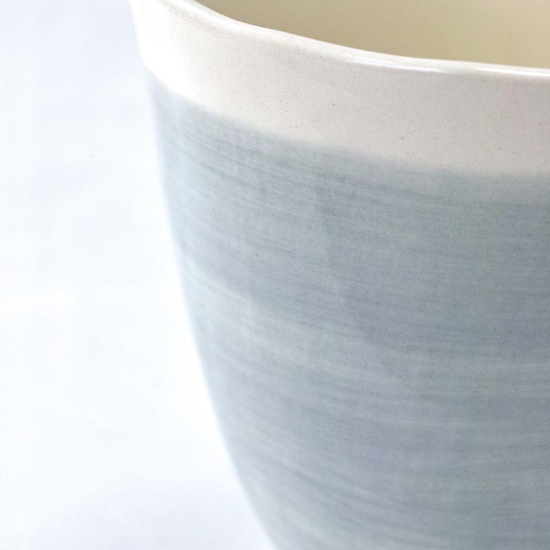 マグカップ バイカラー ブルー×ホワイト manually LTLH1040BL / SPICE OF LIFE