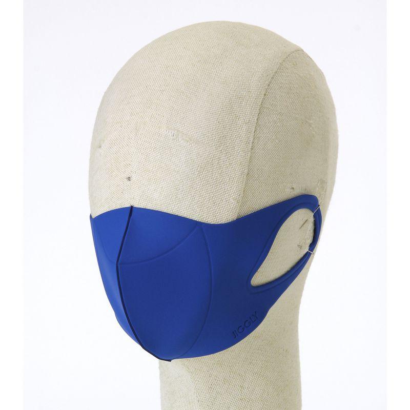 [送料無料/別発送] 【52%OFF! マスクに風特別セット】ウルトラパフマスクジグリー ブルー Sサイズ & ダブルファン JGM1011SBL / BTM×SPICE OF LIFE / JIGGLY WFan