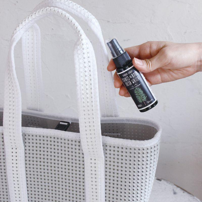 ヒノキ 天然消臭除菌スプレー 携帯用 ベルガモット 50ml YKLG5050D / SPICE OF LIFE