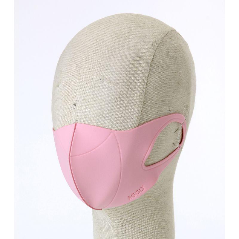 [送料無料/別発送] 【52%OFF! マスクに風特別セット】ウルトラパフマスクジグリー ピンク Sサイズ & ダブルファン JGM1011SPK / BTM×SPICE OF LIFE / JIGGLY WFan