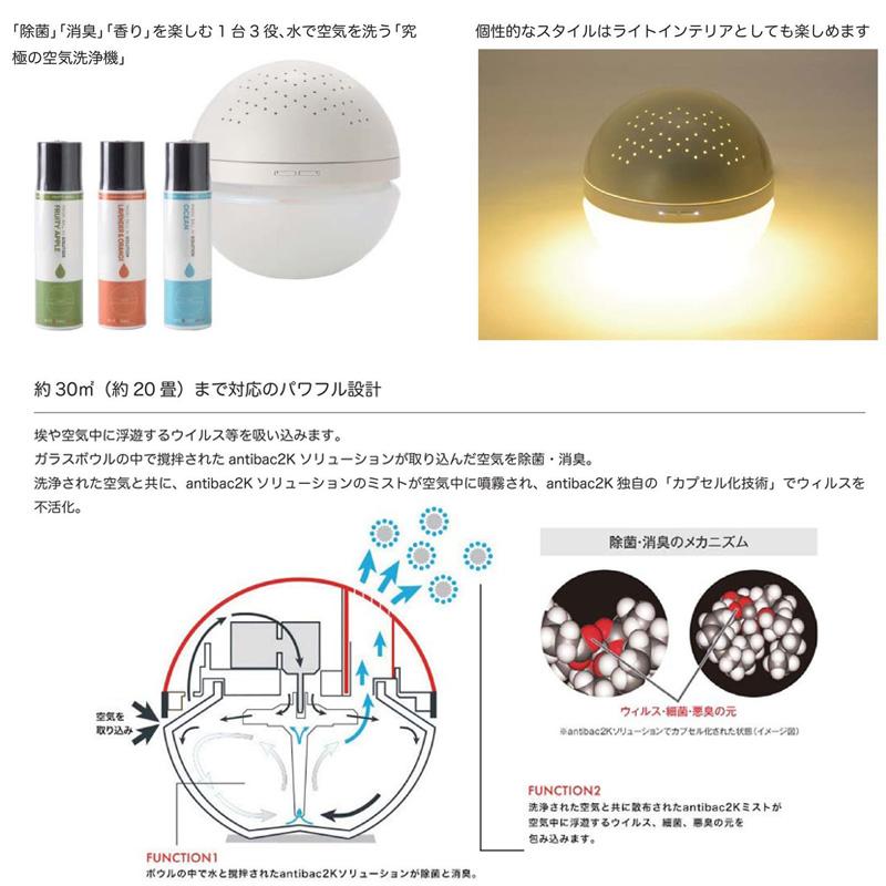 マジックボール専用ソリューション グリーンティー 200ml MBS323 / SPICE OF LIFE