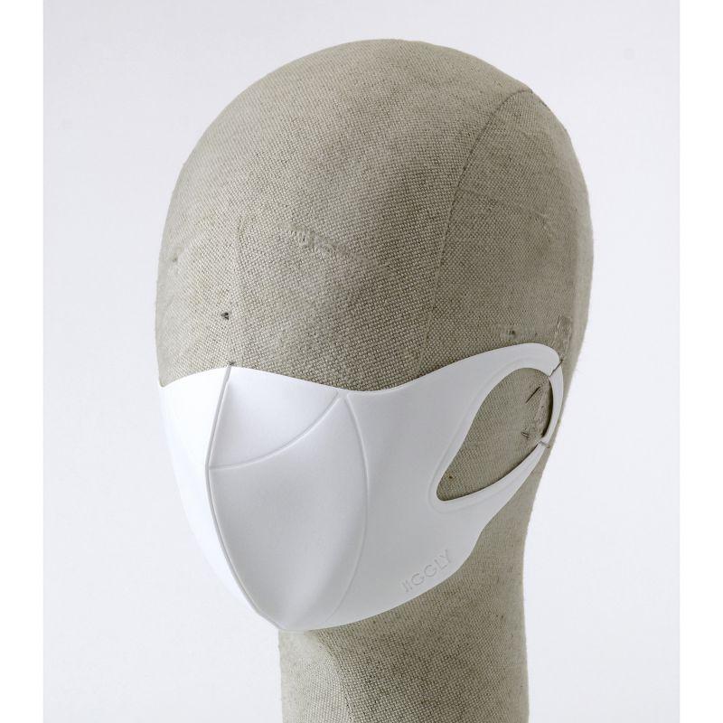 [送料無料/別発送] 【52%OFF! マスクに風特別セット】ウルトラパフマスクジグリー ホワイト Sサイズ & ダブルファン JGM1011SWH / BTM×SPICE OF LIFE / JIGGLY WFan