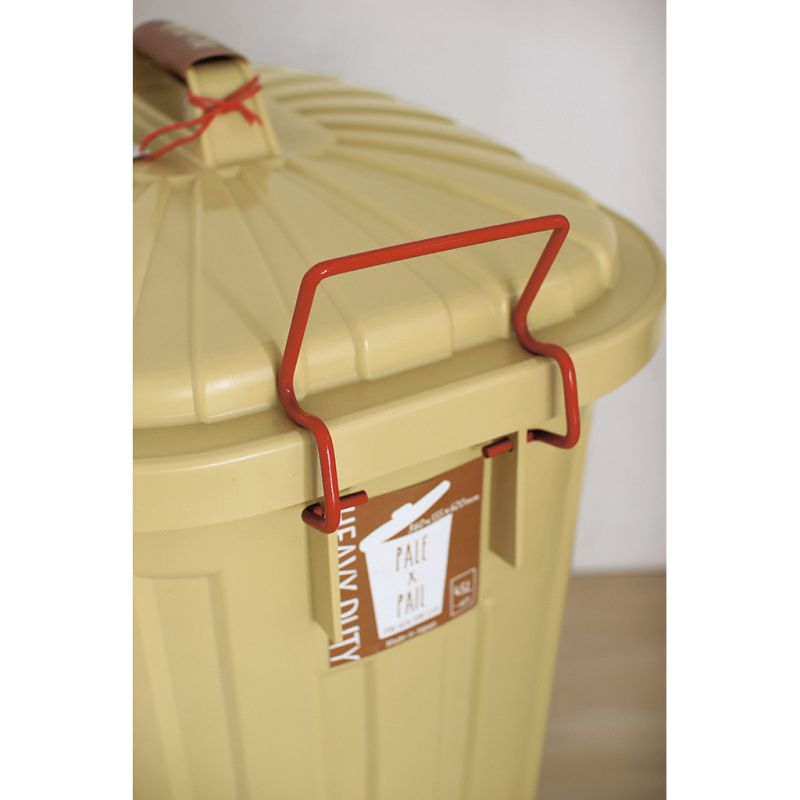 ふた付きゴミ箱 エクリュベージュ 60L PALE×PAIL IWLY4010EB / SPICE OF LIFE
