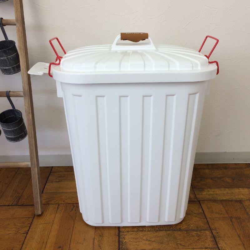 ふた付きゴミ箱 ホワイト 60L PALE×PAIL IWLY4010WH / SPICE OF LIFE