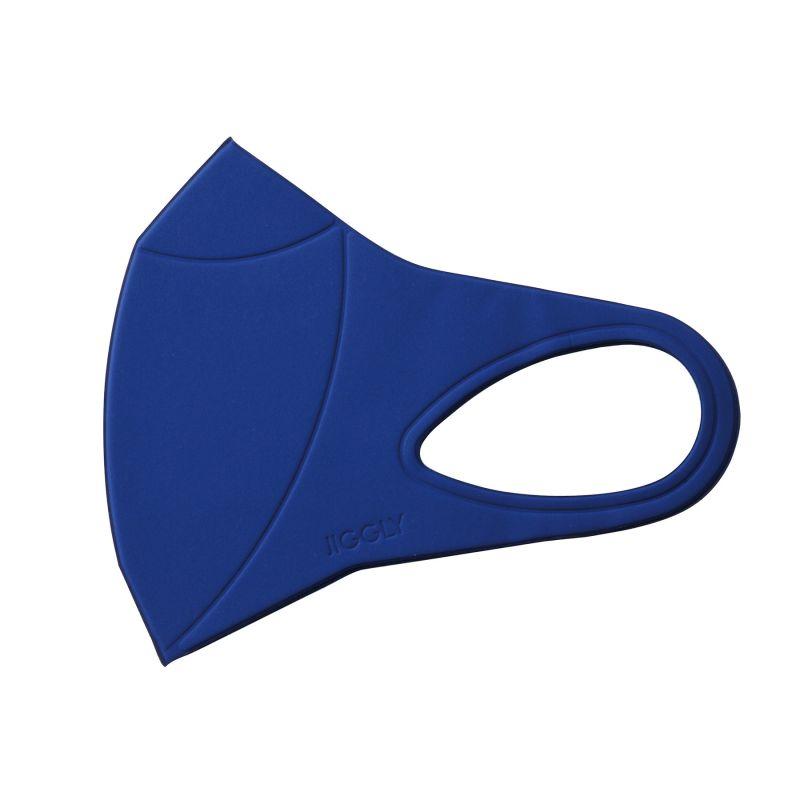 [送料無料/別発送] 【52%OFF! マスクに風特別セット】ウルトラパフマスクジグリー ブルー Mサイズ & ダブルファン JGM1012MBL / BTM×SPICE OF LIFE / JIGGLY WFan
