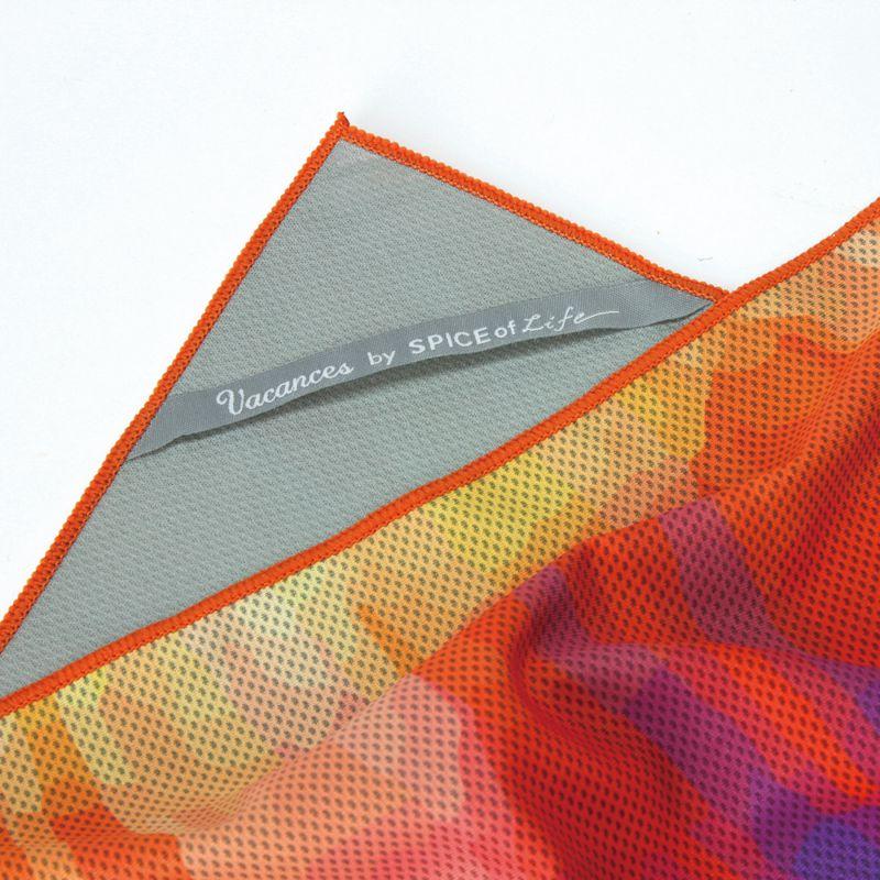 【セール50%OFF】ウォータークールタオル タイダイ 120×34cm SFVZ3002 / SPICE OF LIFE