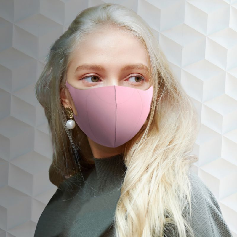 [送料無料/別発送] 【52%OFF! マスクに風特別セット】ウルトラパフマスクジグリー ピンク Mサイズ & ダブルファン JGM1012MPK / BTM×SPICE OF LIFE / JIGGLY WFan