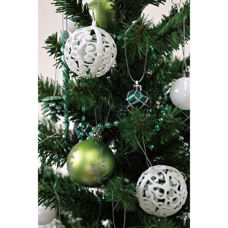 クリスマス パーティーオーナメント アソート62個セット グリーン GEXK3069GR / SPICE OF LIFE