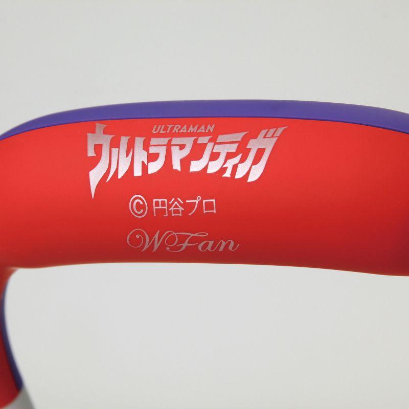 [2021年モデル] ウルトラマンティガモデル ダブルファンハンズフリーヨガシロッコ【風量5段階/USB充電式】 DFYS221TIGA / SPICE OF LIFE