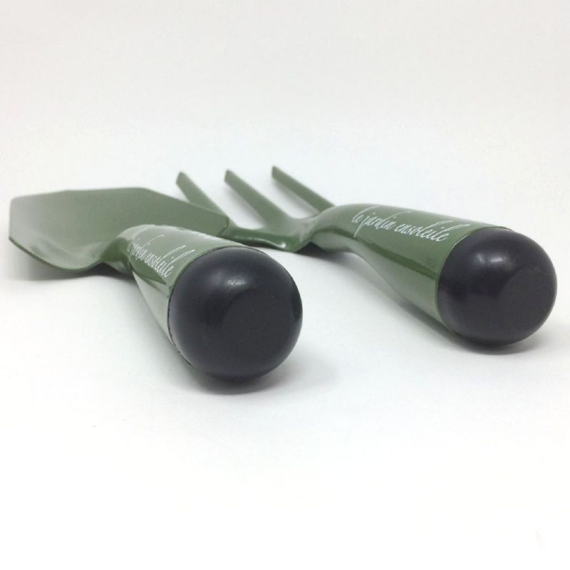 ブリキガーデンスコップ&フォークセット グリーン ボヌール JMGF2049GR / SPICE OF LIFE