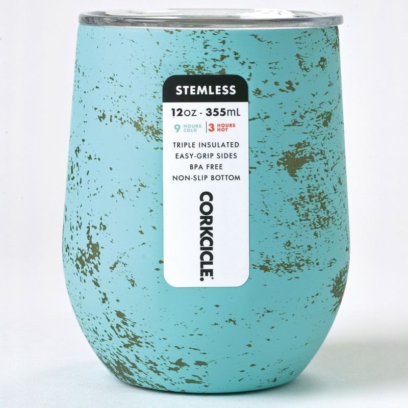 [CORKCICLE] ステムレス バリブルー 300ml BALI BLUE STEMLESS 12oz 2312PBB