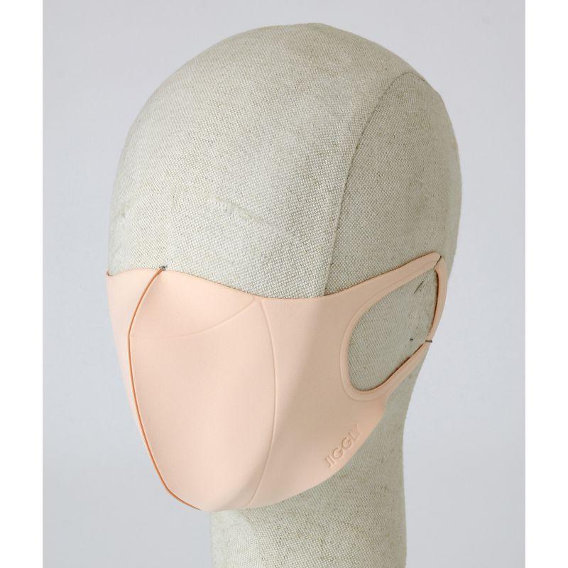 [送料無料/別発送] 【52%OFF! マスクに風特別セット】ウルトラパフマスクジグリー ベージュ Lサイズ & ダブルファン JGM1013LBE / BTM×SPICE OF LIFE / JIGGLY WFan