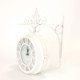 壁掛け両面時計 ホワイト Lサイズ OLD STREET NHE801LWH / SPICE OF LIFE