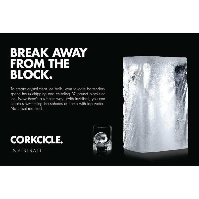 [送料無料] CORKCICLE インヴィジボール INVISIBALL 8001GW