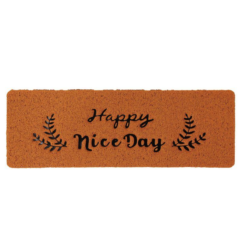 [SPICE OF LIFE] ふかふかテラスマット Happy nice Day ハーフサイズ CWLN2920