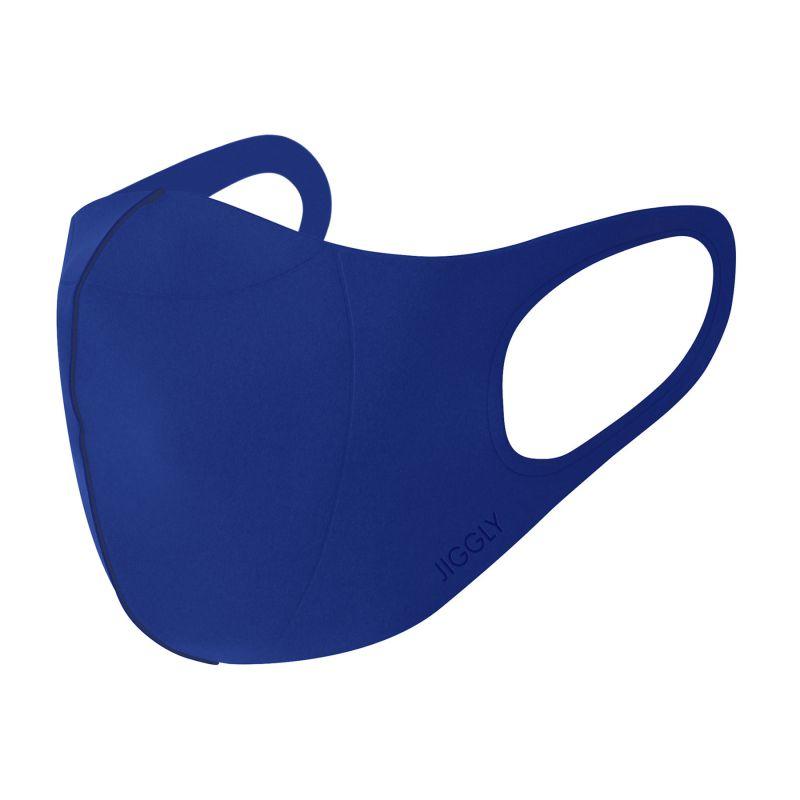 [送料無料/別発送] 【52%OFF! マスクに風特別セット】ウルトラパフマスクジグリー ブルー Lサイズ & ダブルファン JGM1013LBL / BTM×SPICE OF LIFE / JIGGLY WFan