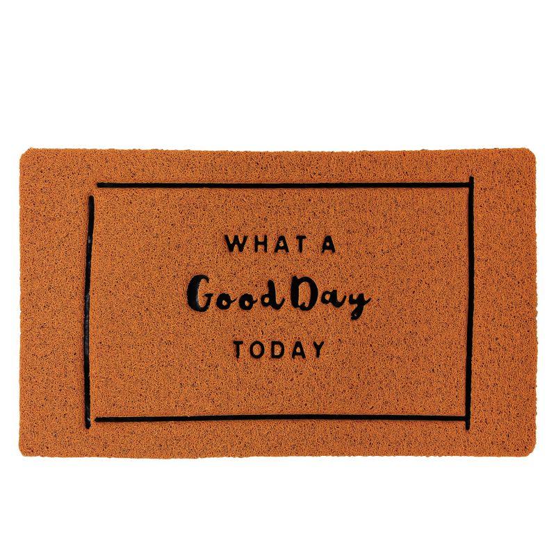 ふかふかテラスマット WHAT A Good Day TODAY Sサイズ CWLN2941 / SPICE OF LIFE