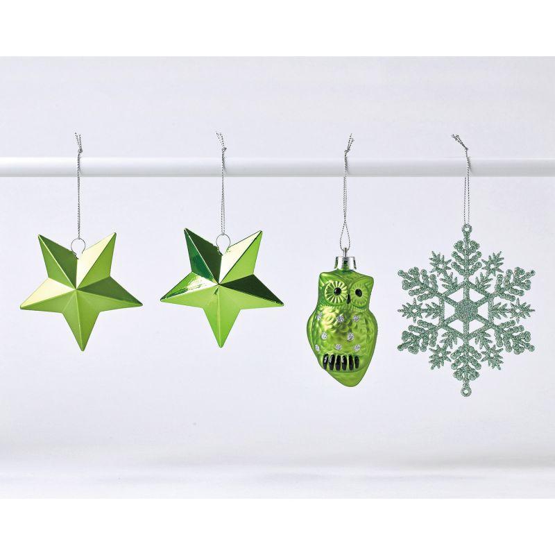 クリスマス パーティーオーナメント アソート100個セット グリーン GEXK3079GR / SPICE OF LIFE