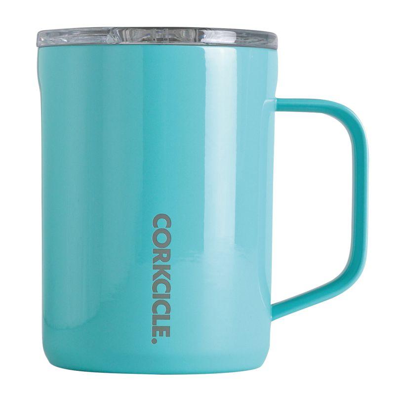 CORKCICLE コーヒーマグ ターコイズ 400ml COFFEE MUG Turquoise 16oz 2516GT