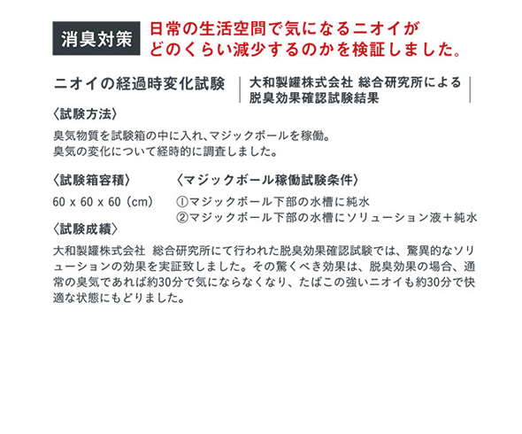 マジックボール専用ソリューション for クリーンエアー 200ml MBS339 / SPICE OF LIFE