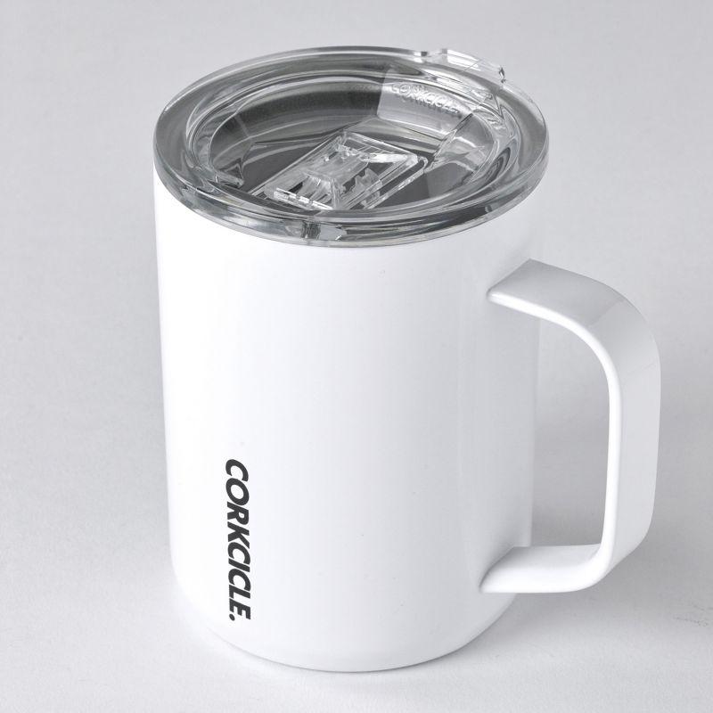 CORKCICLE コーヒーマグ ホワイト 400ml COFFEE MUG White 16oz 2516GW