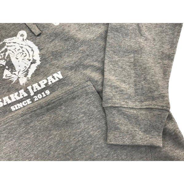 [ウェア]ABCオリジナルス 「ヤルdesテニスクラブ」パーカー ヘザーグレー(w-0111-HG)