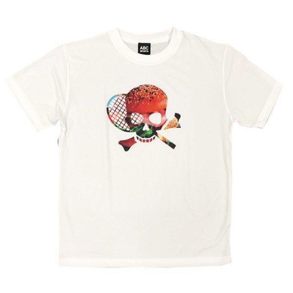 [ウェア]ABCオリジナルス スカル別注Tシャツ ハンバーガー(w-0103-HAM)