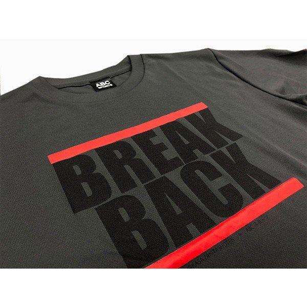 [ウェア]ABCオリジナルス ブレークバック[特典付き]Tシャツ ガンメタリック(w-0102-GM)