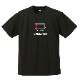 [ウェア]ABCオリジナルス 「Noスタミナ」ロゴDRY Tシャツ(w-0116)ブラック